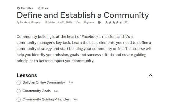 """Facebook thêm các khoá học miễn phí với chủ đề """"Quản trị cộng đồng hiệu quả"""""""