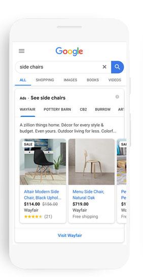 Google thêm tuỳ chọn trực quan cho Shoppers và Brands
