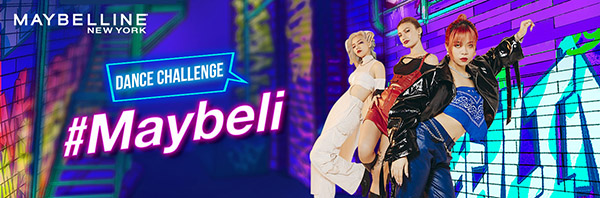 tiktok dance challenge maybelline