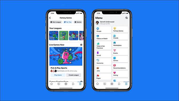 Facebook ra mắt Fantasy Games nhằm bắt kịp với xu hướng thể thao giả tưởng